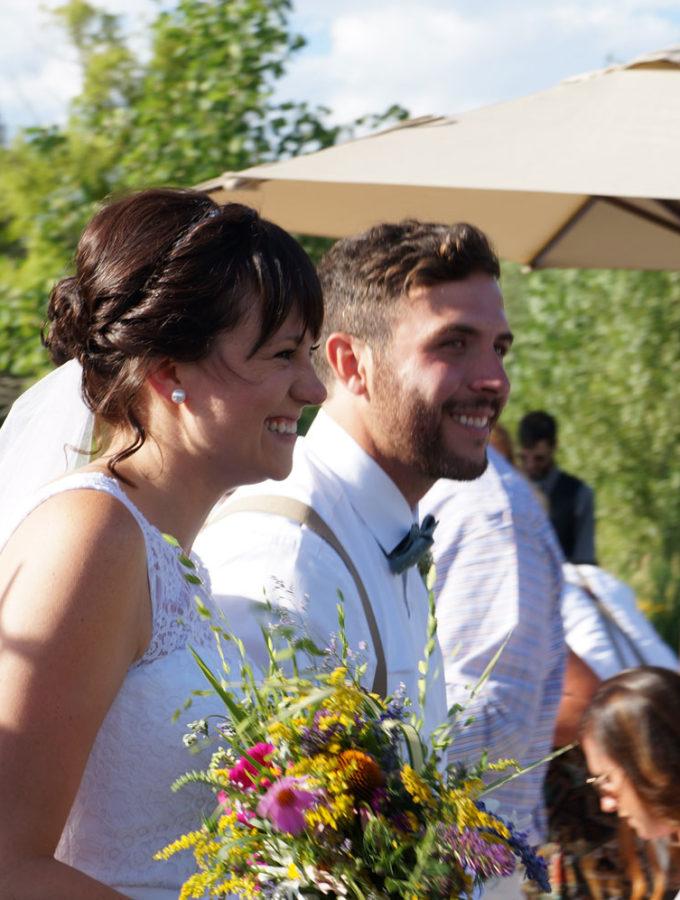 on site wedding hair stylist Colorado